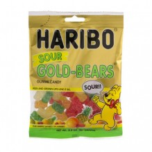 HARIBO SOUR GOLD BEARS 4.5OZ