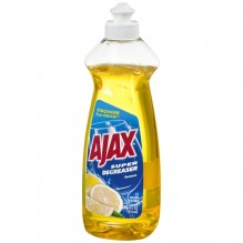 AJAX DISH LIQ 14 OZ LEMON NEW