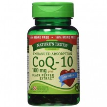 NATURE TRUTH COQ10 100MG BLK 50