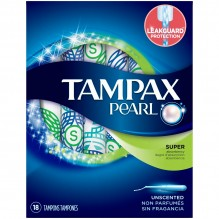 TAMPAX PEARL 18'S SUPER/UNSC