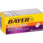 BAYER 24CT BACK & BODY CAPS