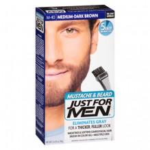 JUST FOR MEN M/BRD MED D-BR M40