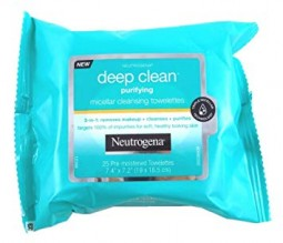 NEUT DEEP PUR MIRCLR WIPES 25CT