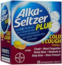 ALKA PLUS COLD & COUGH 20 CT