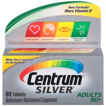 CENTRUM SILVER TAB 80CT