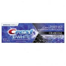 CREST 3D WHT 3 OZ CHARCOAL T/P