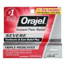 ORA-JEL SEVERE PAIN .33 OZ