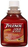 TYLENOL COLD/FLU SEV 8 OZ HNYLM