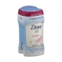 DOVE 1.6OZ I/S POWDER 2PACK