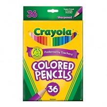 CRAYOLA COLOR PENCILS 36CT