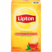 LIPTON TEA BAGS 50 CT