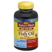 N/M #4296 FISH OIL ONE DLY 100C