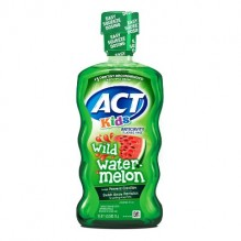 ACT FLUOR RINS 16.9Z KID WTRMLN