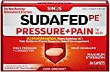 SUDAFED PE PRSSR & PAIN M/S 24S