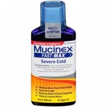MUCINEX FAST-MX 6OZ SVR CLD ADU