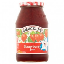 SMUCKER'S STRWBRY JAM 32OZ/CS12