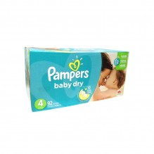 PAMPERS BABY DRY SZ4 92CT