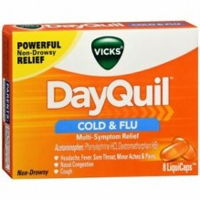 DAYQUIL LIQUCAPS 8CT COLD&FLU