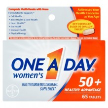 ONE A DAY WOMANS 50 + ADV