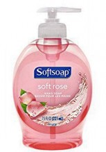 SOFTSOAP PUMP 7.5OZ SOFT ROSE