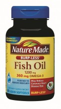 N/MADE #1416 FISH OIL 1200 60S