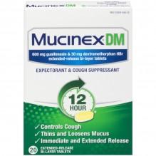 MUCINEX DM 20 CT