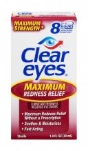 CLEAR EYES 1OZ MAX REDNESS RLF