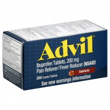 ADVIL TABS 200 CT