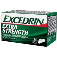 EXCEDRIN E/S CAPLETS 24'S
