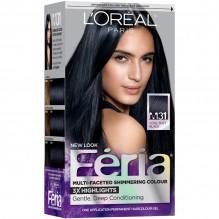 FERIA #21 BRIGHT BLACK