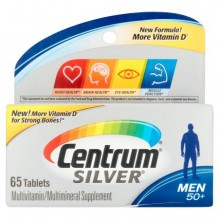 CENTRUM SILVER MEN'S 65 CT
