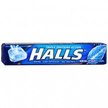 HALLS STK 9'S 20/BX MENTHOLYP