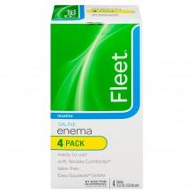FLEET ENEMA 4.5OZ SALINE 4PK