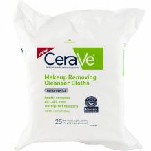 CERAVE MAKE-UP REMVER CLTHS 25
