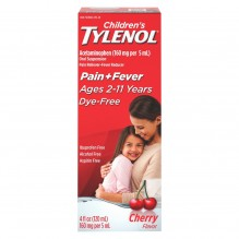 TYLENOL CHILD SUSP CHRY DF 4 OZ