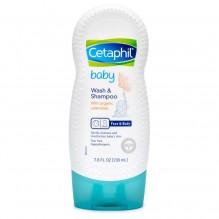 CETAPHIL BABY WASH & SHMP 7.8OZ