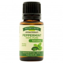 NATURE TRUTH PEPPERMINT OIL .5