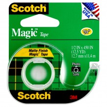 SCOTCH MAGIC TAPE 1/2X450 #104