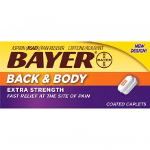 BAYER 100CT BACK & BODY CAPS