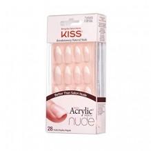 KISS SALON ACRYLIC NAILS NUDE